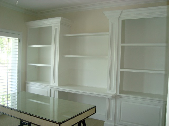 Built-in Cabinet Painting